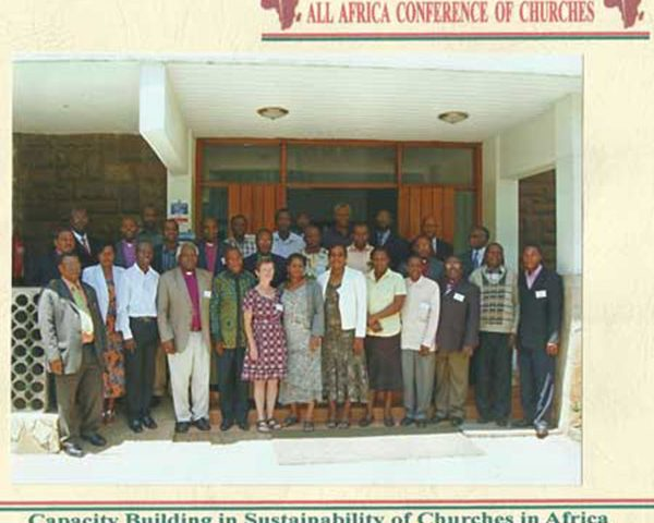 A seminar on sustainability and capacity building for Church leaders from Rwanda in Nairobi